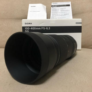 SIGMA - sigma 100-400mm f5-6.3 dg c efマウント