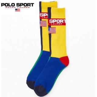 POLO RALPH LAUREN - POLO SPORT ソックス ポロスポーツ 新品 靴下 ポロスポ ラルフ