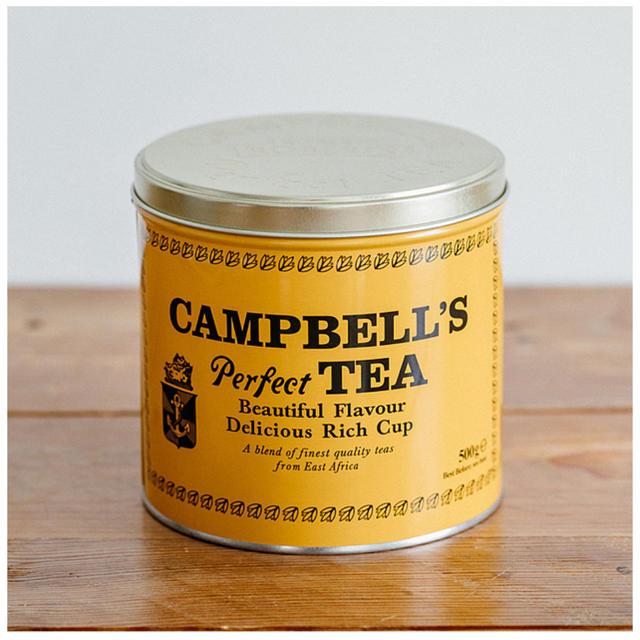 KALDI(カルディ)のCampbell's Perfect Tea  500g 缶入り 食品/飲料/酒の飲料(茶)の商品写真