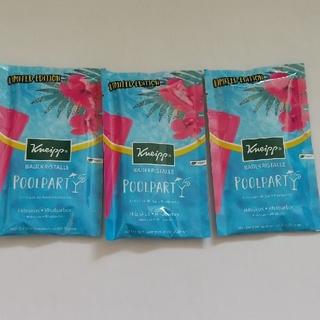 クナイプ(Kneipp)のクナイプ ブールパーティ 入浴剤 バスクリスタル 60g×3 バスソルト(入浴剤/バスソルト)