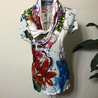 デシグアル(DESIGUAL)のデシグアル【Desigual 】Tシャツ・カットソー(Tシャツ(半袖/袖なし))