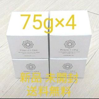 パーフェクトワン(PERFECT ONE)のパーフェクトワン モイスチャージェルb 75g×4 新品 未開封 送料無料(オールインワン化粧品)