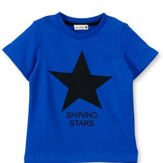 ブランシェス(Branshes)の星柄半袖Tシャツ 80cm(Tシャツ)