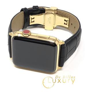 アップルウォッチ(Apple Watch)のApple Watch Series 3 24金 メッキ カスタム(腕時計(デジタル))