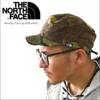 THE NORTH FACE - 新品 ノースフェイス ノベルティ トレイル キャップ 帽子 フェス ライブ 旅行