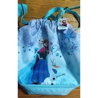 アナと雪の女王 - アナと雪の女王  プールバック スイミングバッグ 女の子 二層 ナップサック