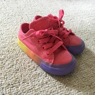 CONVERSE - コンバース キッズスニーカー カラフル ピンク 1歳 2歳 12.5cm