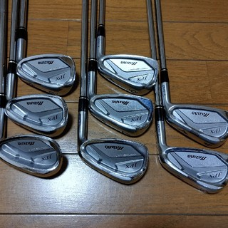 MIZUNO - ミズノ JPX E500 FORGED 4~F 8本 NSPRO950GH R