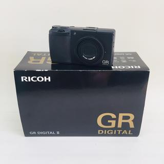 リコー(RICOH)のリコー RICOH デジタルカメラ GR DIGITAL Ⅱ(コンパクトデジタルカメラ)