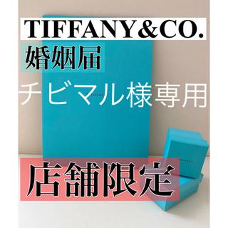 Tiffany & Co. - 【正規品】Tiffany&co.【婚姻届フォルダー】