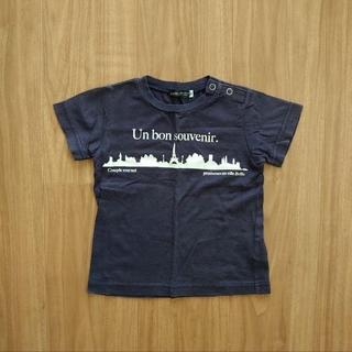 ベベ(BeBe)のべべ ベビー キッズ 半袖Tシャツ ネイビー 90(Tシャツ/カットソー)