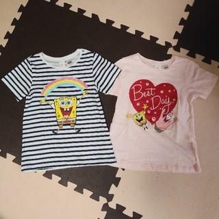 H&M - H&M スポンジ・ボブ Tシャツセット 100 新品