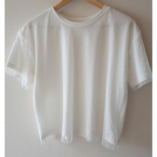 グローバルワーク(GLOBAL WORK)のグローバルワークドットTシャツ(Tシャツ(半袖/袖なし))