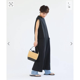 Spick and Span - Spick and Span 【ADAWAS】OVERSIZE TUNIC 黒