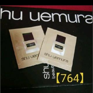 shu uemura - 【764·イエロー系標準色】shu uemuraファンデーションサンプル×②✿
