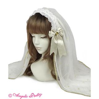 アンジェリックプリティー(Angelic Pretty)のTwinkle Tonightベール付カチューシャ(カチューシャ)
