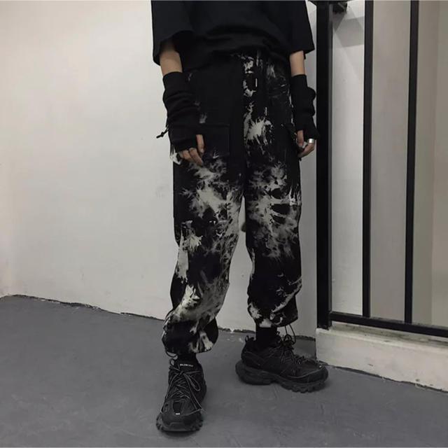 【即日発送‼️】タイダイ柄 カーゴパンツ ジョガーパンツ ワークパンツ メンズのパンツ(ワークパンツ/カーゴパンツ)の商品写真