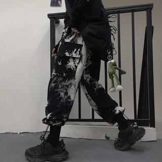 【即日発送‼️】タイダイ柄 カーゴパンツ ジョガーパンツ ワークパンツ