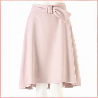 プロポーションボディドレッシング(PROPORTION BODY DRESSING)のシルキースエードスカート プロポーション (ひざ丈スカート)