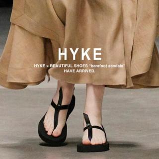 HYKE - 新品 HYKE/ハイク beautifulshoes 別注 ベアフット サンダル
