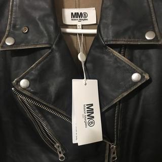 マルタンマルジェラ(Maison Martin Margiela)のMM6 maison  malgiera ライダース ▪️タグ有 新品未使用(ライダースジャケット)