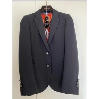 グッチ(Gucci)の【美品】Gucci グッチ ジャケット スーツ 36 ブラック(テーラードジャケット)