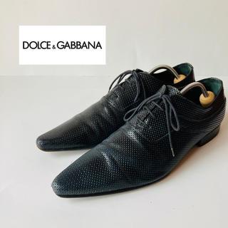 ドルチェアンドガッバーナ(DOLCE&GABBANA)のDolce&Gabbana ドルチェ & ガッバーナ ドレスシューズ 革靴(ドレス/ビジネス)
