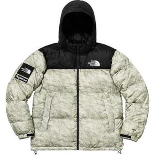 S Supreme North Face Paper Nuptse Jacket