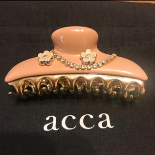 acca - acca 【限定】ヘアクリップ (中) / アッカ