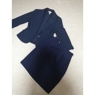 PATTERN fiona - パターンフィオナ ジャケット スカート レディース 紺スーツ