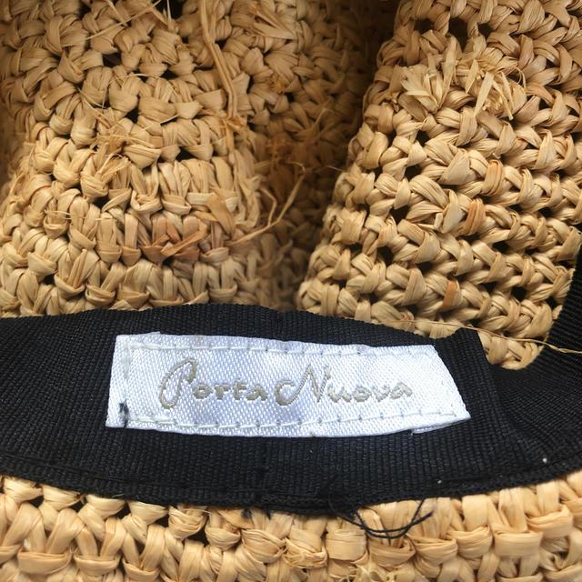 IENA(イエナ)のIENA porta nuova ストローハット レディースの帽子(麦わら帽子/ストローハット)の商品写真