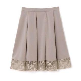 プロポーションボディドレッシング(PROPORTION BODY DRESSING)のPROPORTION BODY DRESSING レーススカート(ひざ丈スカート)