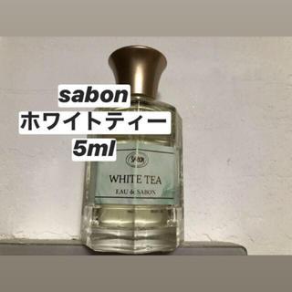 SABON - sabon ホワイトティー オードゥサボン
