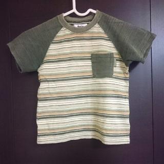 ベベ(BeBe)のBeBe ボーダー半袖Tシャツ 100cm(Tシャツ/カットソー)