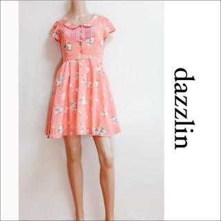 dazzlin - dazzlin 花柄 襟付き ワンピース♡セシルマクビー titty&Co.