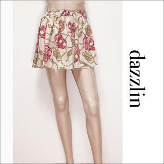 dazzlin - dazzlin チェーン スカーフ柄 スカート♡セシルマクビー MIIA