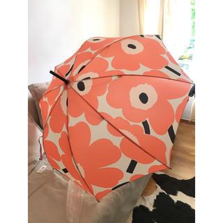 マリメッコ(marimekko)の長傘 ウニッコ コーラル(傘)