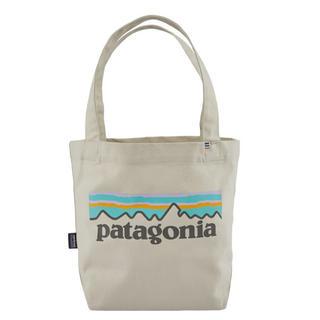 patagonia - パタゴニア ミニ トートバッグ 新品 P-6 ロゴ ブリーチドストーン