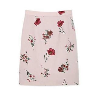 プロポーションボディドレッシング(PROPORTION BODY DRESSING)のPROPORTION BODY DRESSING  花柄スカート(ひざ丈スカート)
