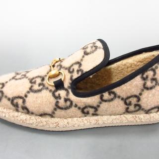 グッチ(Gucci)のグッチ ローファー 36 レディース ベージュ(ローファー/革靴)