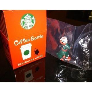 Starbucks Coffee - スターバックス コーヒーサンタ トナカイのフィギュア 未開封