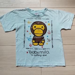 アベイシングエイプ(A BATHING APE)の BABY MILO キッズTシャツ (Tシャツ/カットソー)