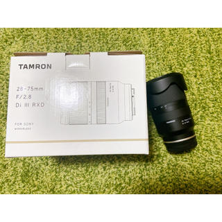 タムロン(TAMRON)の極美品TAMRON 28-75mm F/2.8 Di Ⅲ RXDA036sony(レンズ(ズーム))