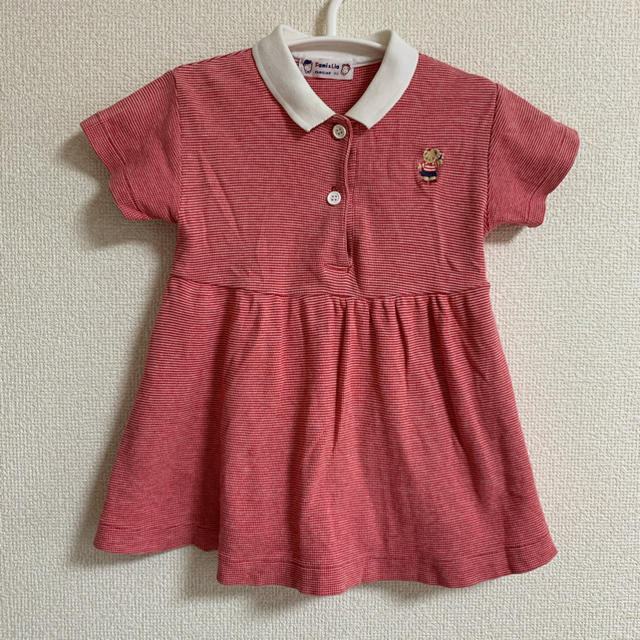 familiar(ファミリア)のファミリア ポロワンピース キッズ/ベビー/マタニティのベビー服(~85cm)(ワンピース)の商品写真