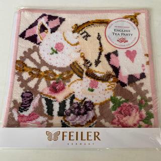 FEILER - フェイラー🌟イングリッシュティーパーティハンカチ①