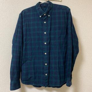 ムジルシリョウヒン(MUJI (無印良品))の無印 メンズ チェックシャツ(シャツ)