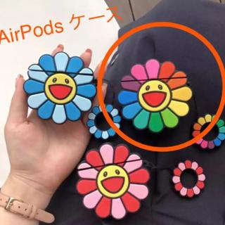 AirPods ケース 花 カイカイキキ エアポッズ ケース シリコン