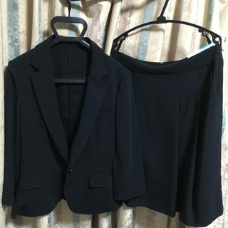 RU - 夏物 レディース スーツ セット ブラック