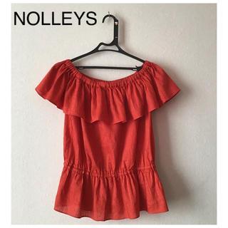 ノーリーズ(NOLLEY'S)の⭐︎美品⭐︎NOLLEYS トップス オフショル size38(カットソー(半袖/袖なし))