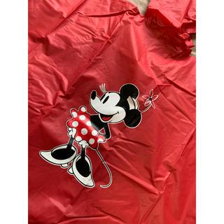 ミッキーマウス(ミッキーマウス)のミニー レインポンチョMサイズ(キャラクターグッズ)